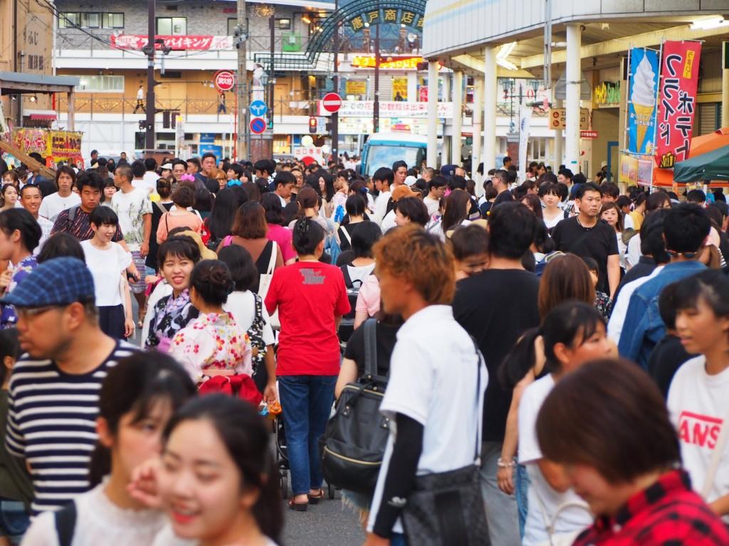 ▲ 昨年度(平成30年・2018年)の夏越祭の様子